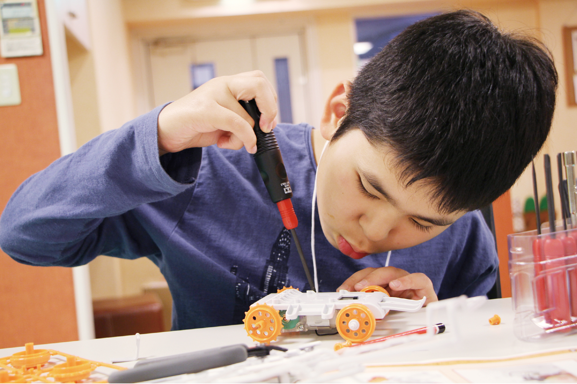 タミヤロボットスクール メカニックコース